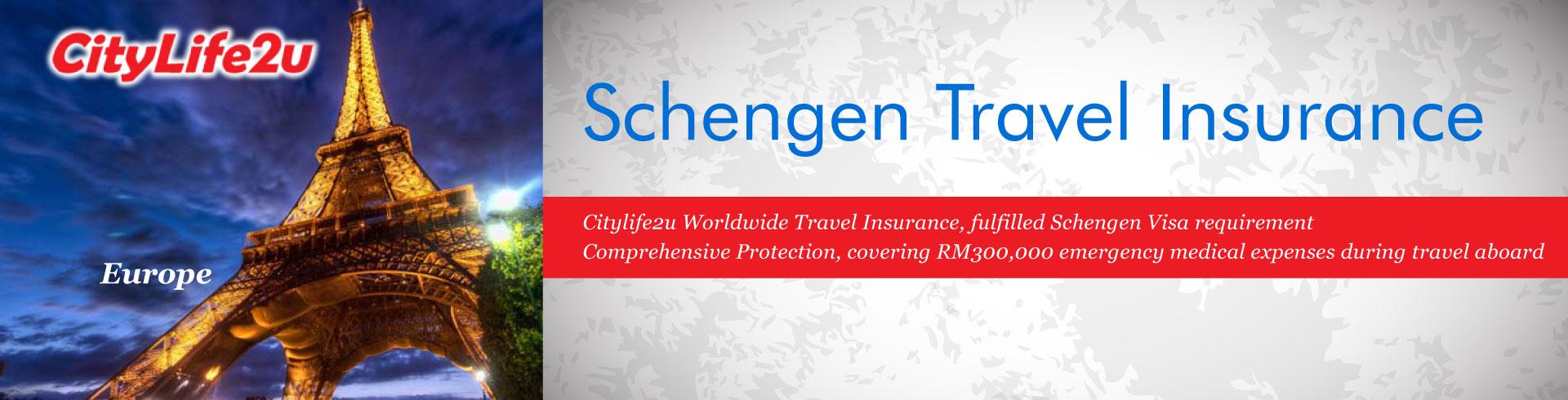 Fulfilled Schengen Visa requirement.